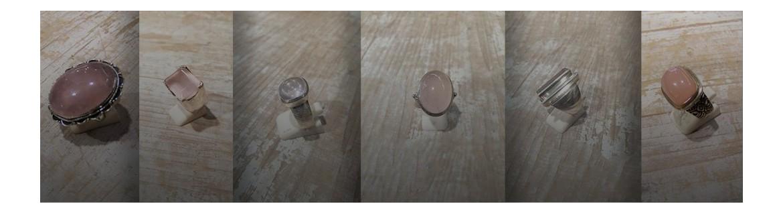 Bague quartz rose - bague quartz rutile - bague quartz fume en argent 925 - Pierres fines rose - Cabochon en quartz rose - quartz rose rectangle