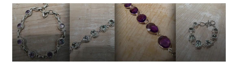 Bracelet amethyste - bracelet amethystes vertes - bracelet amethystes - bracelet améthyste cabochon - manchette amethyste