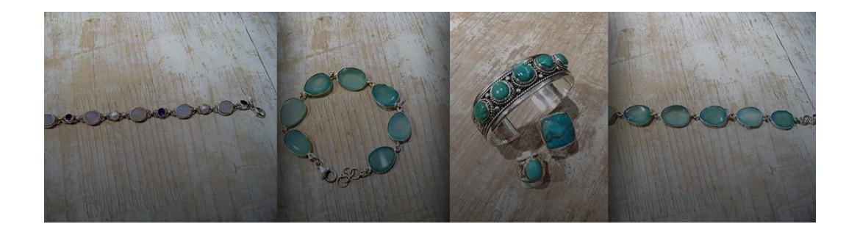 Bracelet Lapis Lazuli en argent 925°/°°